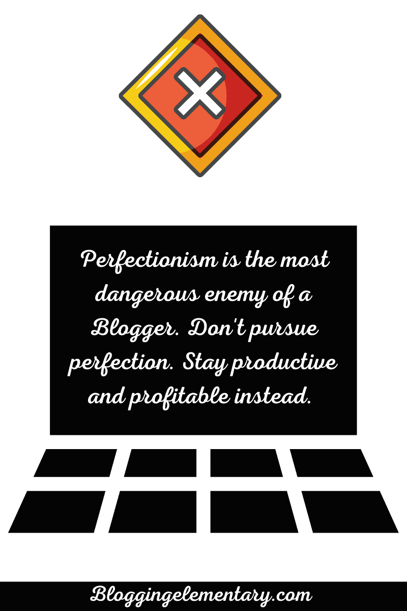 The Perfectionist Inside You Is Taking Over All Profitability