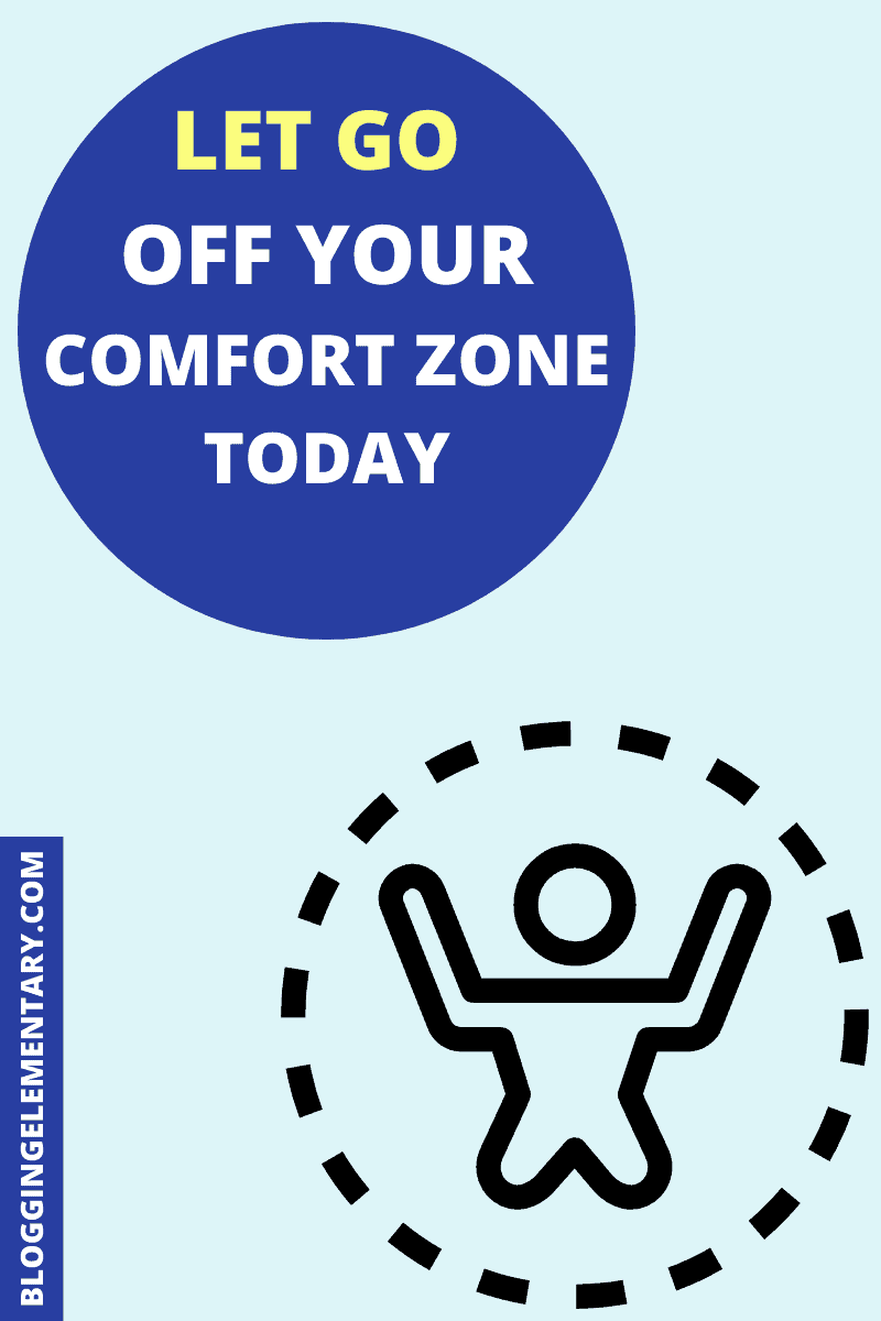 Bloggers must leave their comfort zones