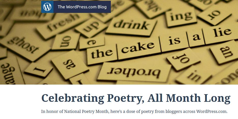 Poetry on WordPress