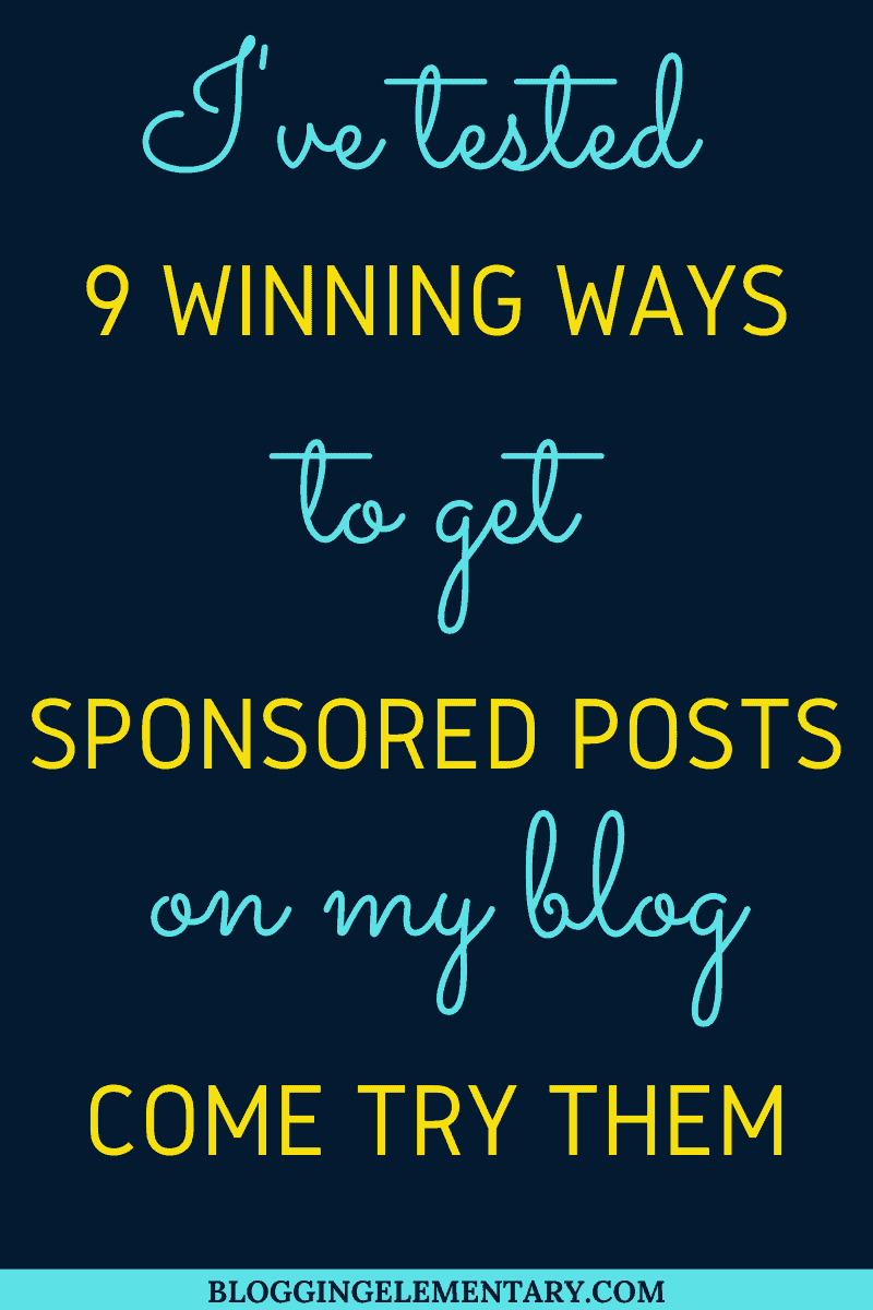 Getting sponsored posts on your blog from quora