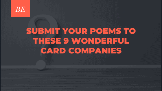 9 Lovesome Greeting Card Companies Accepting Poetry Submissions