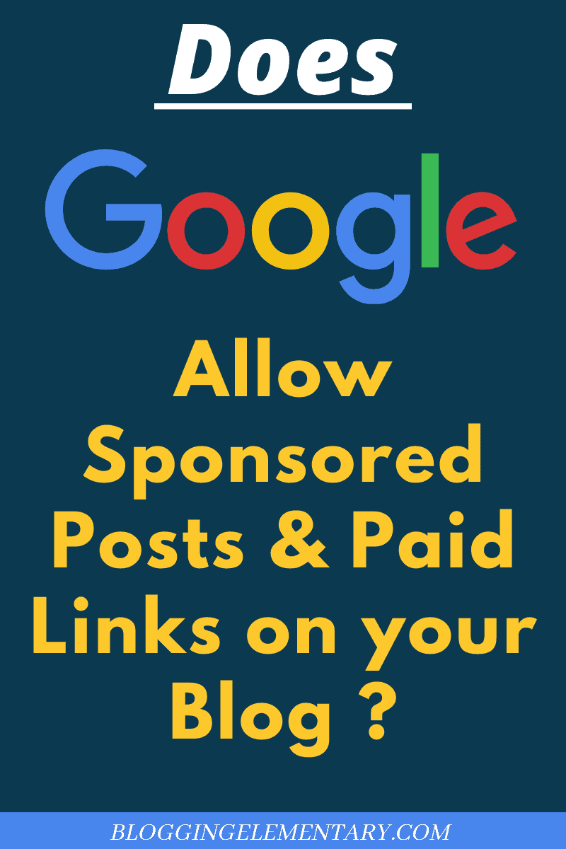 sponsored posts versus paid links for a blog