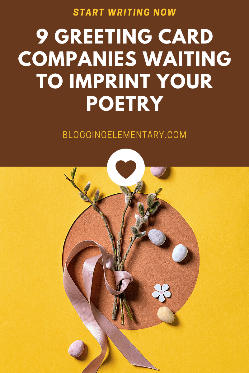 which greeting card companies accept poetry submissions