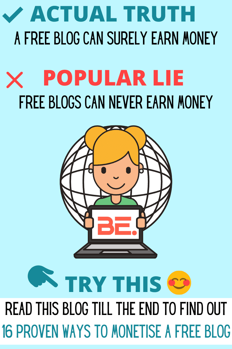 Can a free blog make money